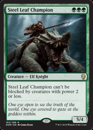 Steel Leaf Champion | Dominaria