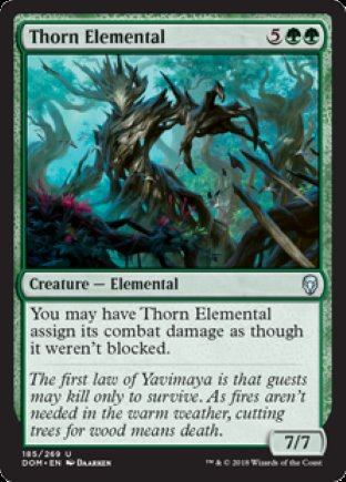 Thorn Elemental | Dominaria