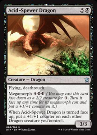Acid-Spewer Dragon | Dragons of Tarkir