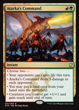 Atarka's Command | Dragons of Tarkir
