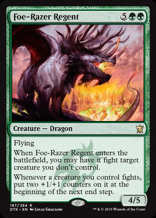 Foe-Razer Regent | Dragons of Tarkir