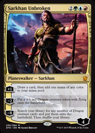 Sarkhan Unbroken | Dragons of Tarkir