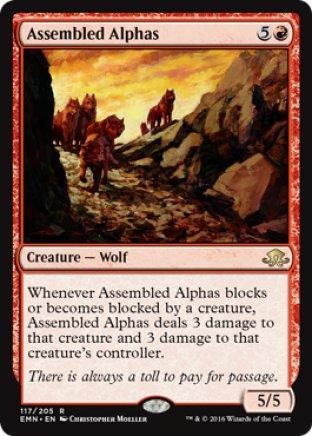 Assembled Alphas | Eldritch Moon
