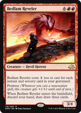 Bedlam Reveler | Eldritch Moon