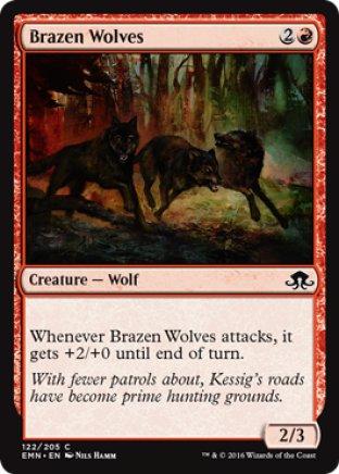 Brazen Wolves   Eldritch Moon