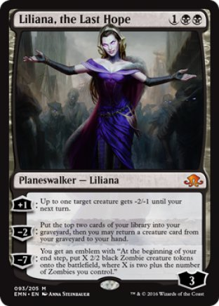 Liliana, the Last Hope | Eldritch Moon