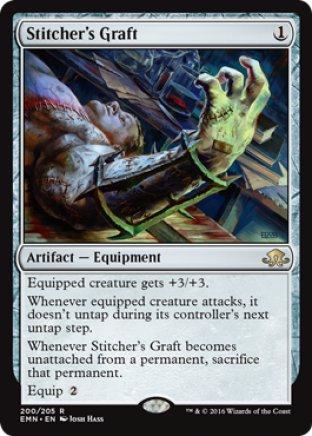 Stitcher's Graft | Eldritch Moon