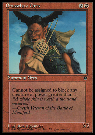 Brassclaw Orcs | Fallen Empires