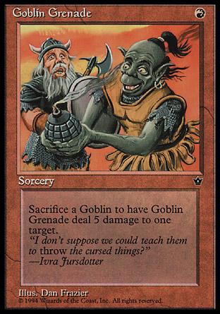 Goblin Grenade | Fallen Empires