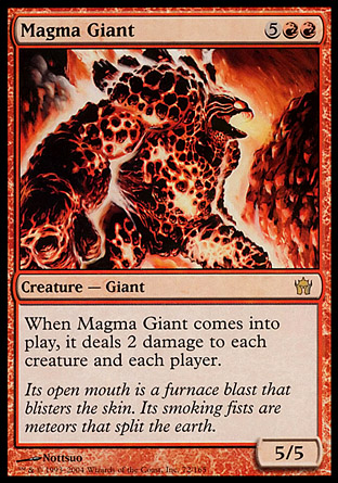 Magma Giant | Fifth Dawn