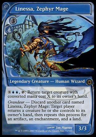 Linessa, Zephyr Mage | Future Sight