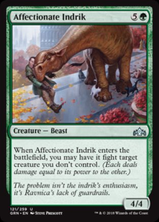 Affectionate Indrik | Guilds of Ravnica