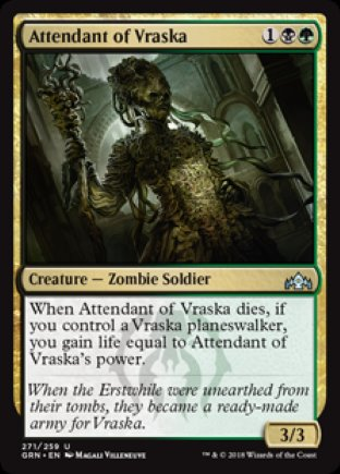 Attendant of Vraska | Guilds of Ravnica