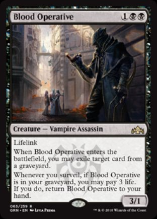 Blood Operative | Guilds of Ravnica