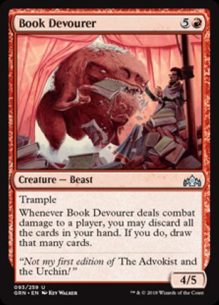 Book Devourer | Guilds of Ravnica