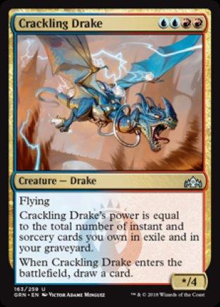 Crackling Drake | Guilds of Ravnica