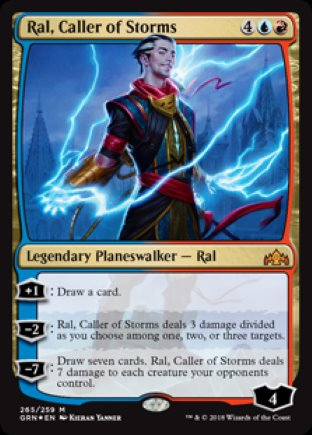 Ral, Caller of Storms | Guilds of Ravnica