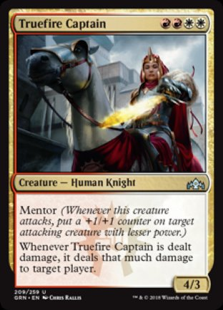 Truefire Captain | Guilds of Ravnica