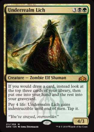 Underrealm Lich | Guilds of Ravnica