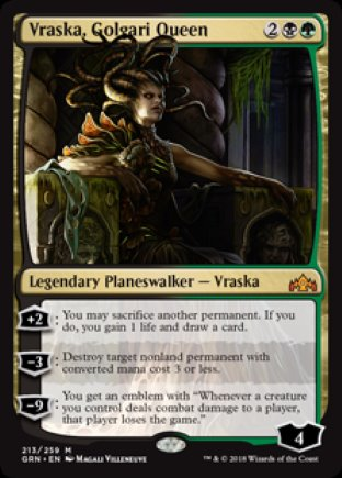 Vraska, Golgari Queen | Guilds of Ravnica