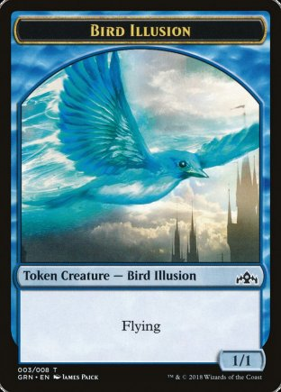 Bird Illusion token | Guilds of Ravnica