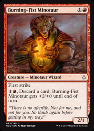 Burning-Fist Minotaur | Hour of Devastation