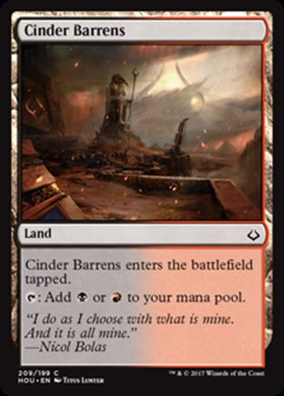 Cinder Barrens | Hour of Devastation