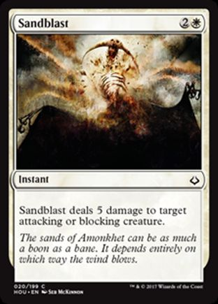 Sandblast | Hour of Devastation