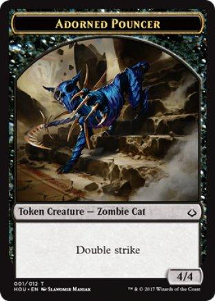 Adorned Pouncer token | Hour of Devastation