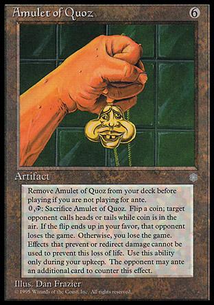 Amulet of Quoz | Ice Age