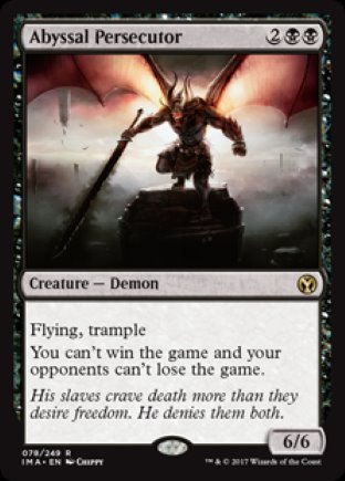 Abyssal Persecutor | Iconic Masters