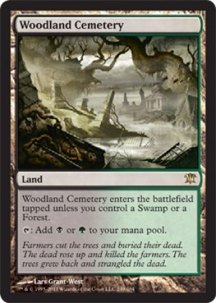 Woodland Cemetery | Innistrad
