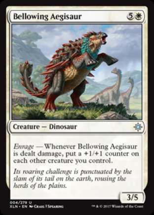 Bellowing Aegisaur | Ixalan