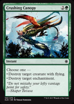 Crushing Canopy | Ixalan