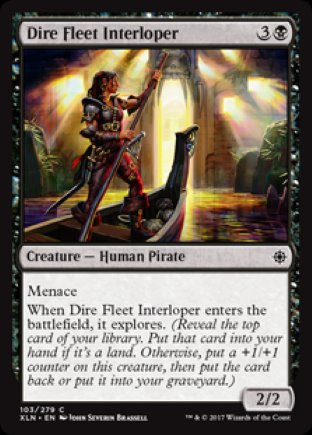 Dire Fleet Interloper | Ixalan