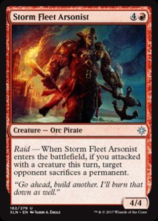 Storm Fleet Arsonist | Ixalan