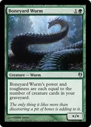 Boneyard Wurm | Izzet vs Golgari