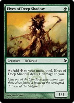 Elves of Deep Shadow | Izzet vs Golgari