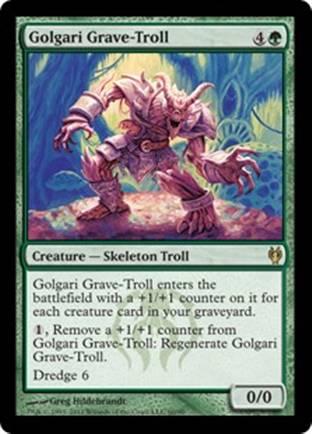 Golgari Grave-Troll | Izzet vs Golgari