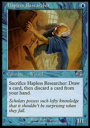 Hapless Researcher   Judgment