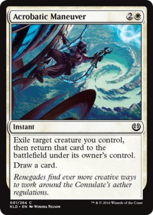 Acrobatic Maneuver | Kaladesh