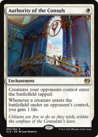 Authority of the Consuls | Kaladesh