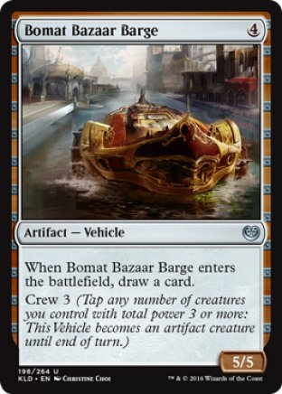 Bomat Bazaar Barge | Kaladesh