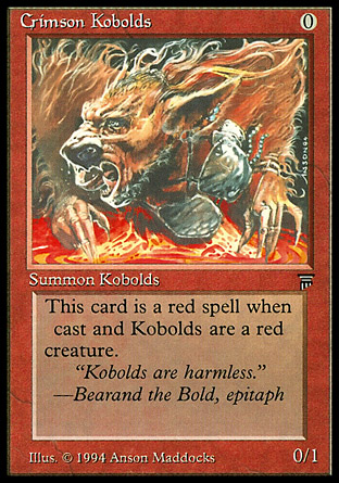 Crimson Kobolds | Legends