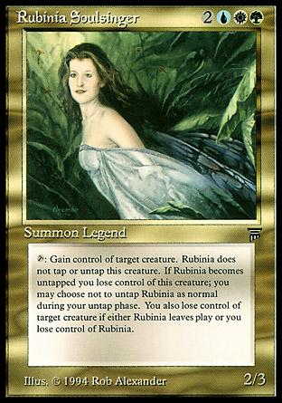 Rubinia Soulsinger   Legends