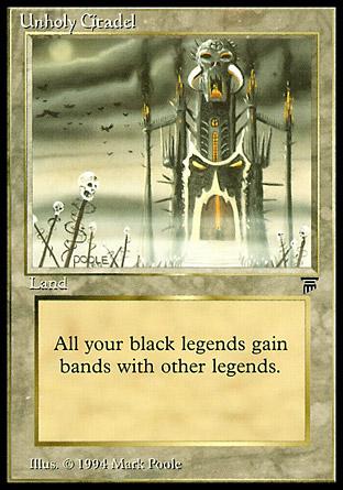 Unholy Citadel   Legends
