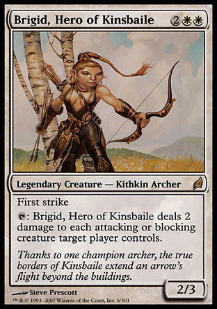 Brigid, Hero of Kinsbaile | Lorwyn
