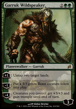 Garruk Wildspeaker | Lorwyn