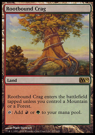 Rootbound Crag | M10