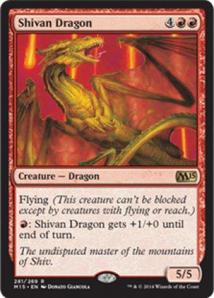 Shivan Dragon | M15